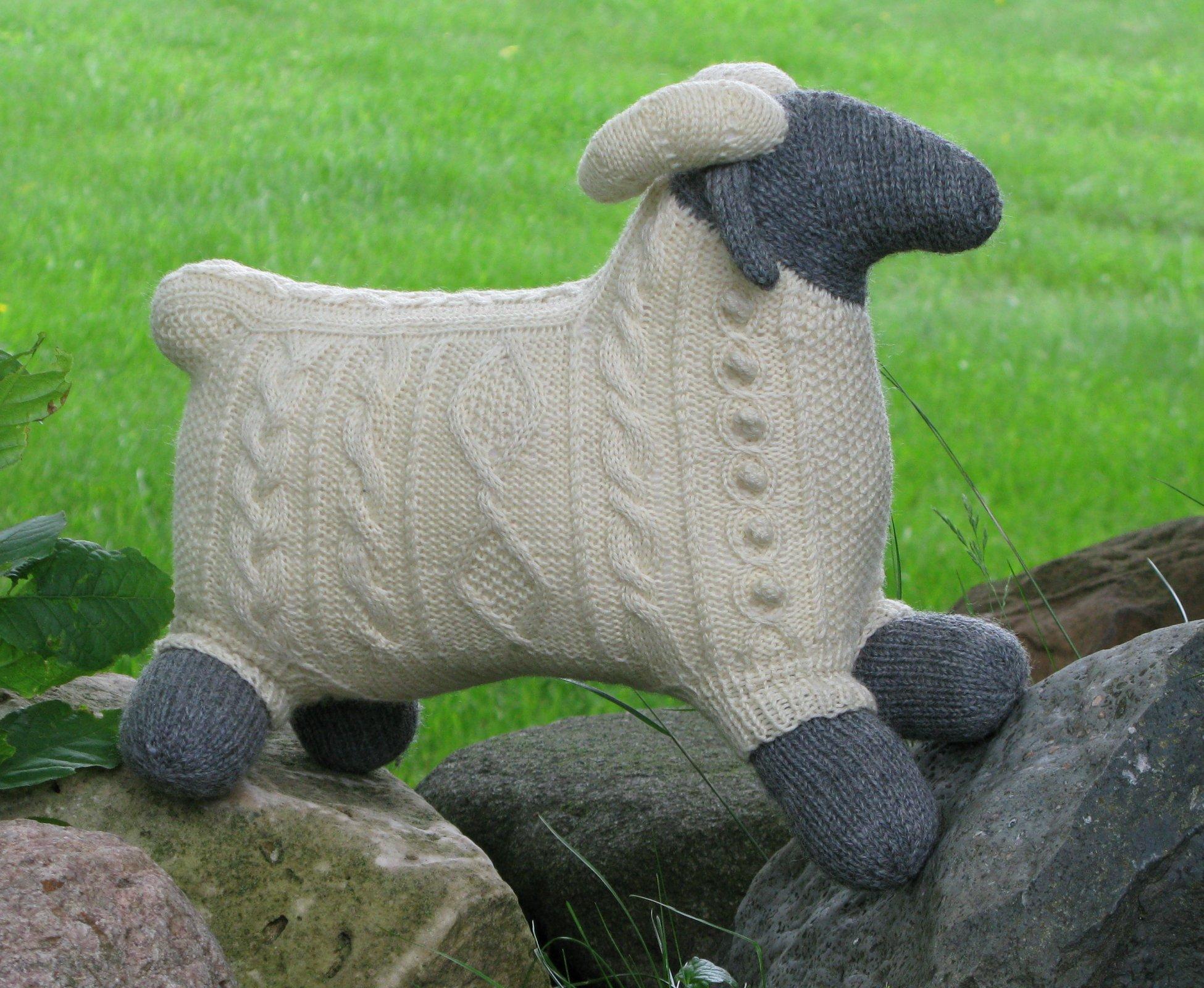 SAM THE RAM Pattern Only (knit)
