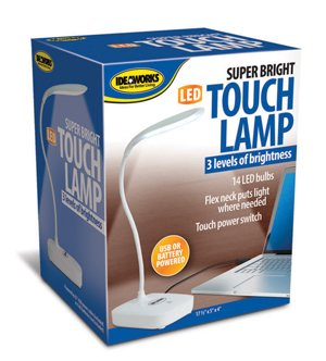 SUPER BRIGHT LED TOUCH LAMP