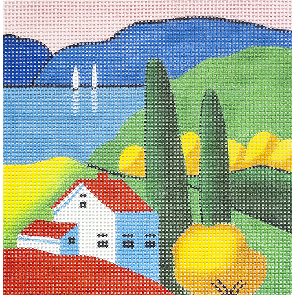 HOUSE BY THE LAKE 13 MESH