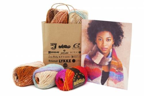 LOVE NORO SCARF (knit) - Drop Ship Only