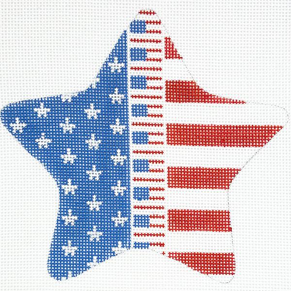 FLAG ZIPPER STAR