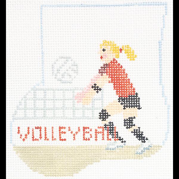 GIRL VOLLEYBALL MINI SOCK