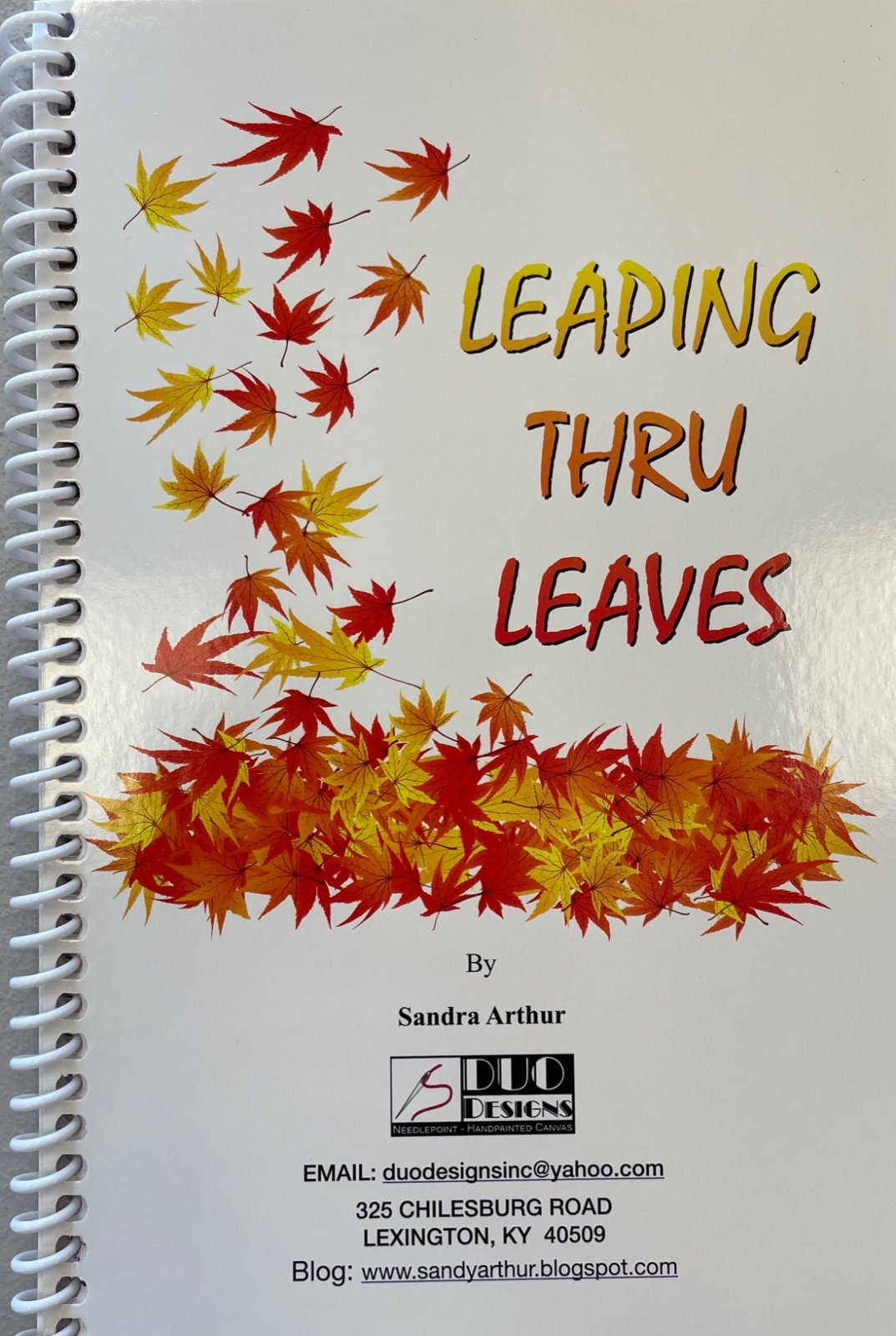 LEAPING THRU LEAVES BOOK