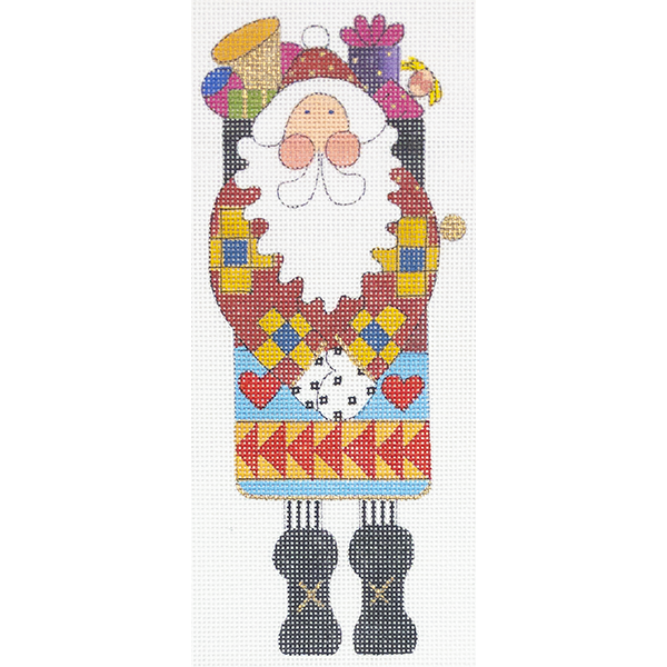QUIRKY QUILTER SANTA