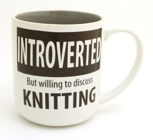 MUG - Introverted Knitting