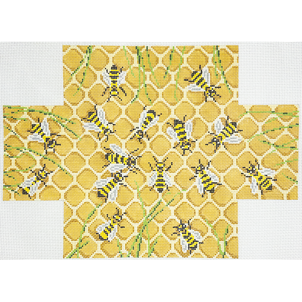 HONEY BEES BRICKCOVER