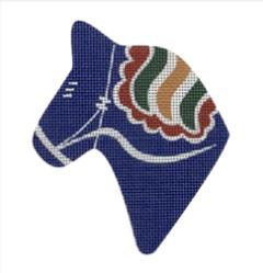 DALA HORSE HEAD Blue