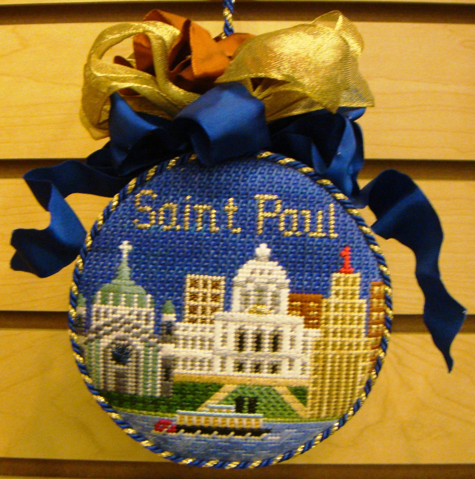 SAINT PAUL ORNAMENT STITCH GUIDE