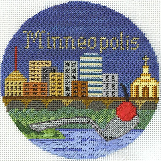 MINNEAPOLIS ORNAMENT STITCH GUIDE