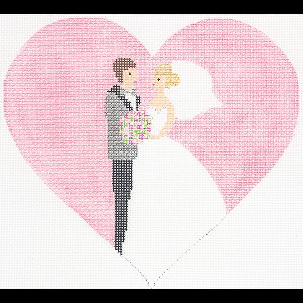 I DO PINK WEDDING HEART