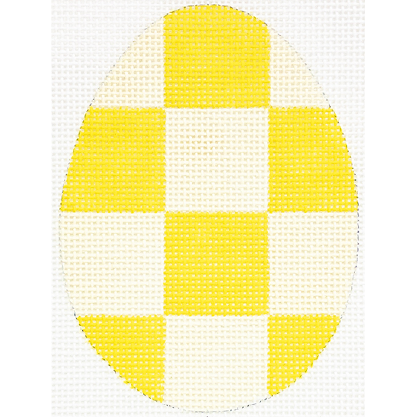 YELLOW CHECKERED EGG