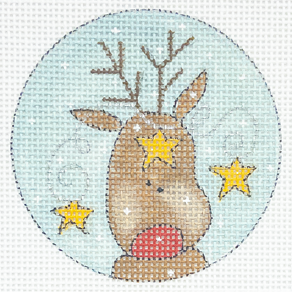 RUDOLPH with STARS