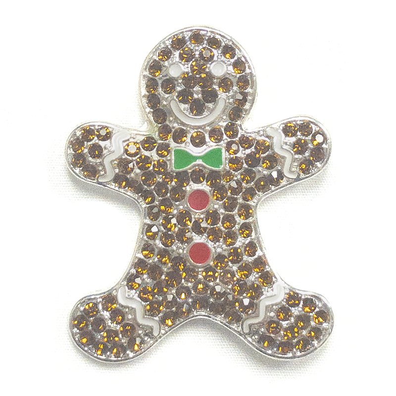 GINGERBREAD MAN NEEDLE MAGNET
