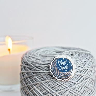 ENAMEL PIN Night Knitter