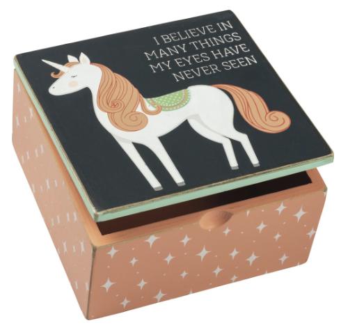 HINGED BOX Unicorn