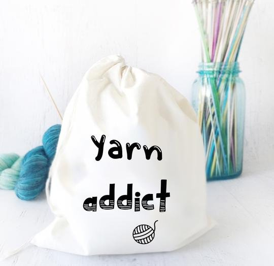 PROJECT BAG Yarn Addict
