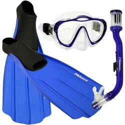 RENTAL Mask/Snorkel/Fins (for one weekend of class)