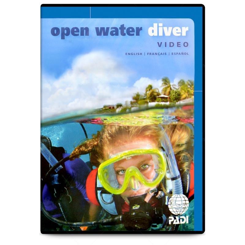 PADI Open Water Diver Certification Materials