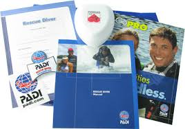 PADI Rescue Diver Crew Pack w/ Pocket Mask