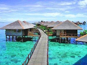 Sipadan Water Village, Borneo   March 2019