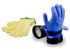 DUI Zip Gloves with Liners - Heavy Duty