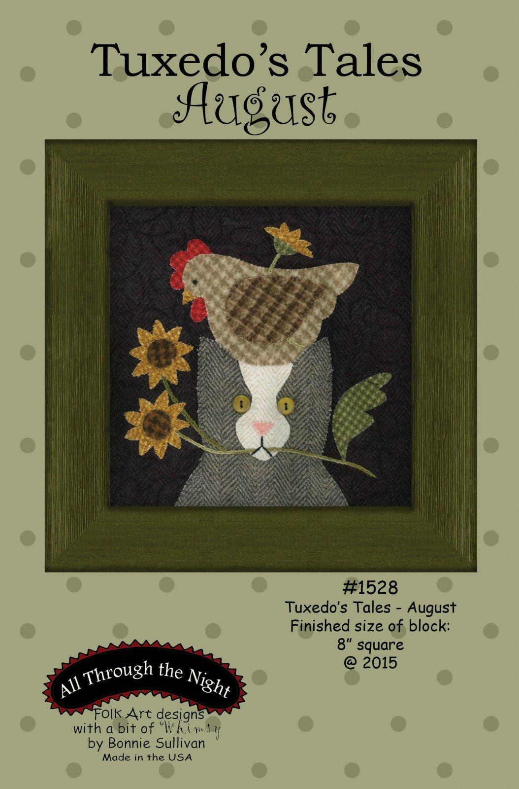 1528 Tuxedo's Tales August