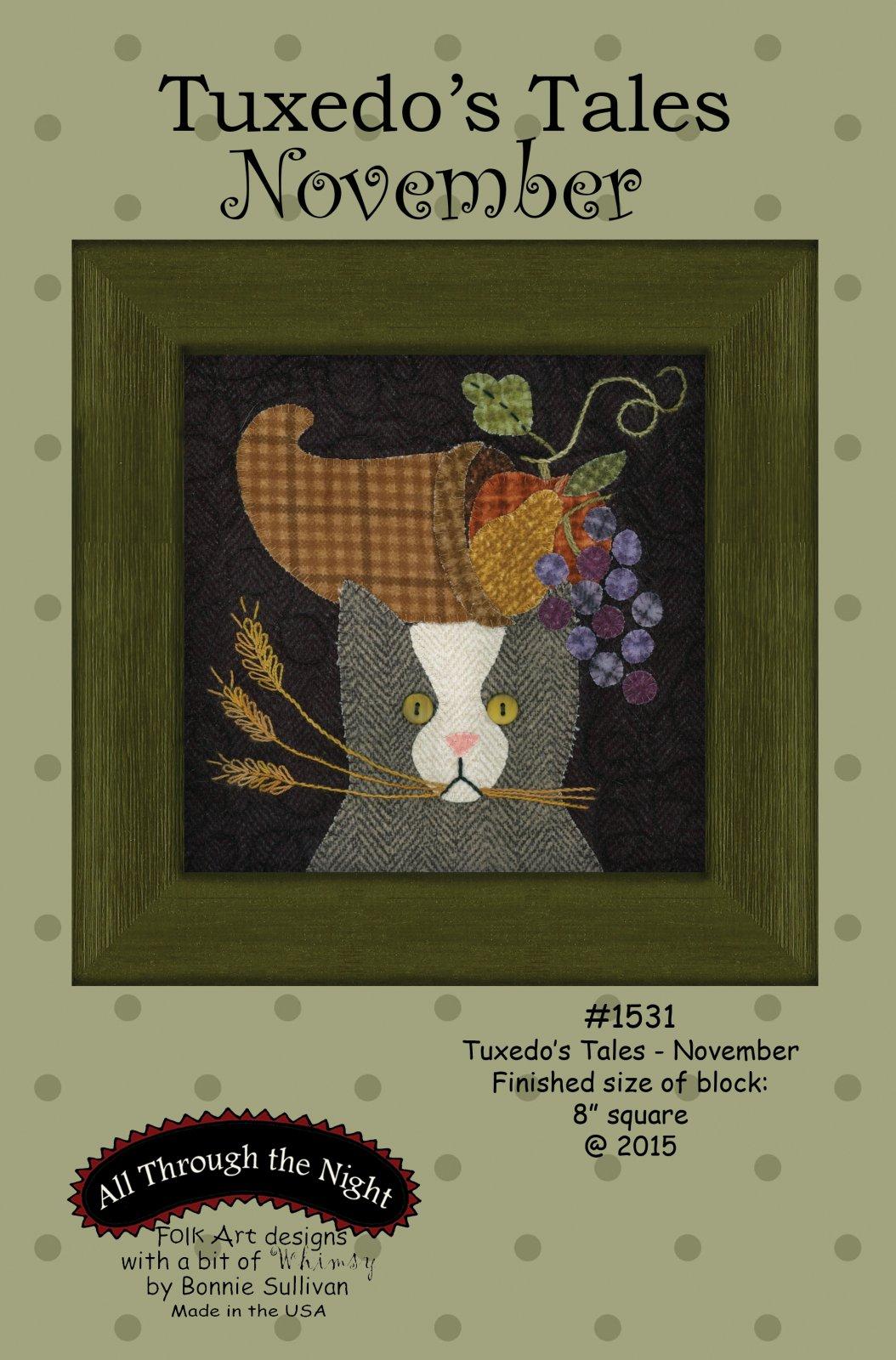 1531 Tuxedo's Tales November