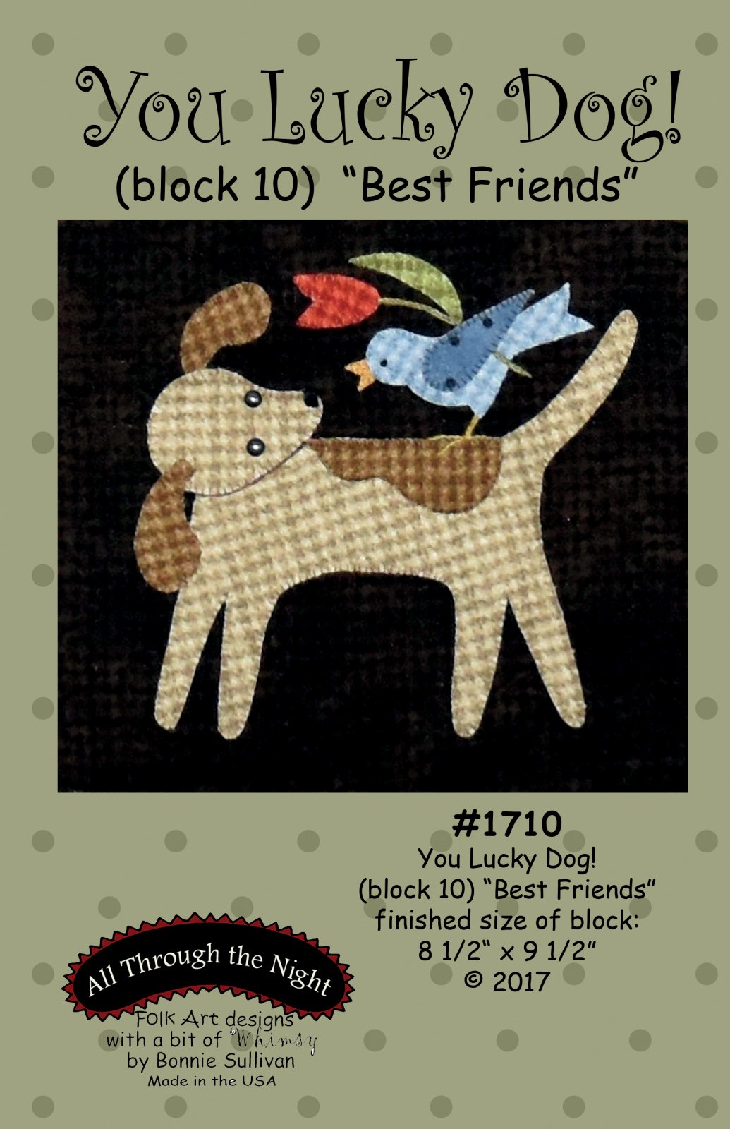 1710 You Lucky Dog Best Friends