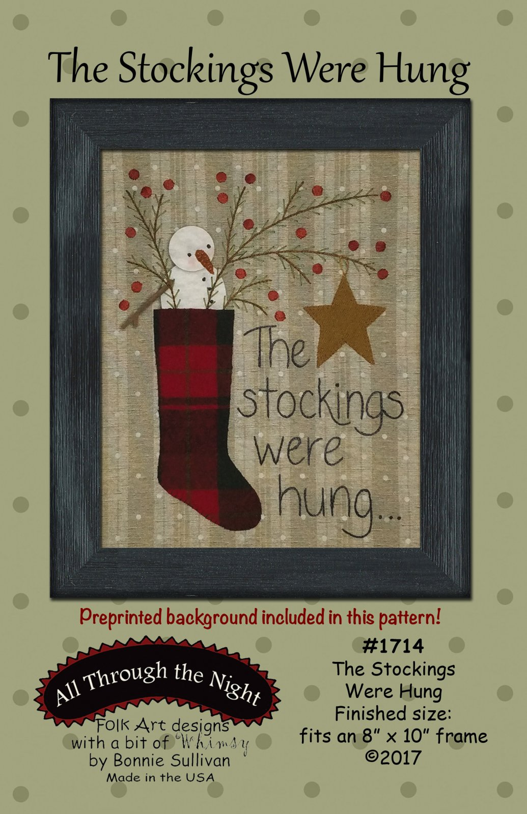 1714 The Stockings Were Hung