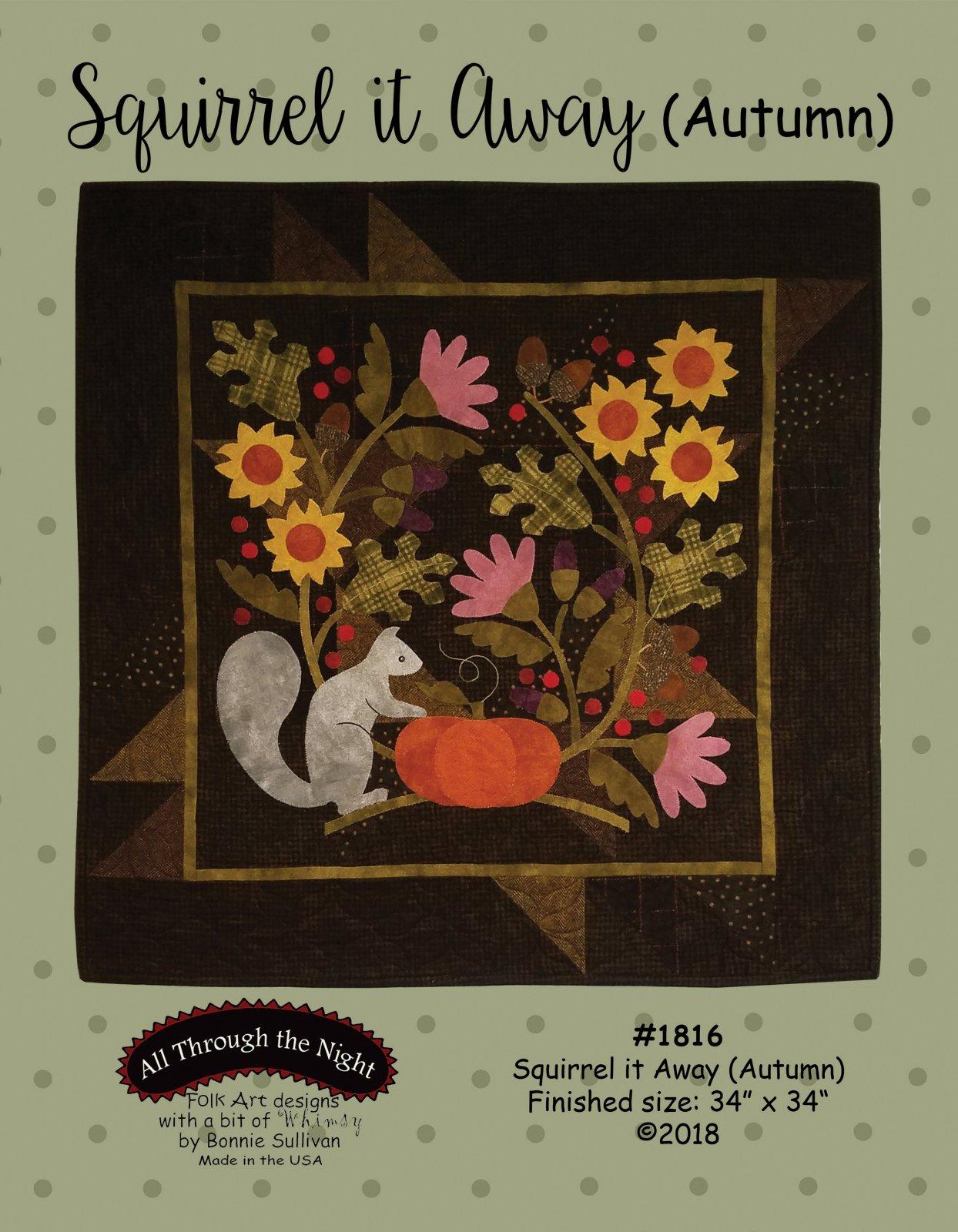 1816 Squirrel it Away Autumn