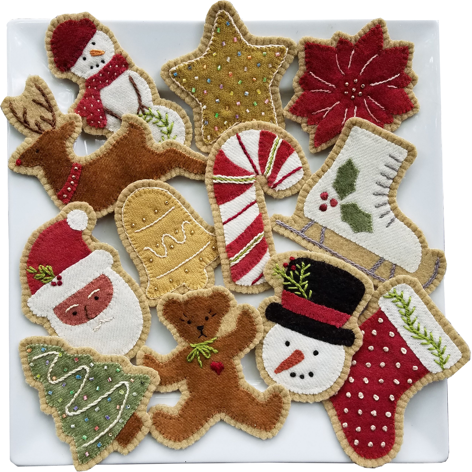 1822 Sugar Cookie Ornaments