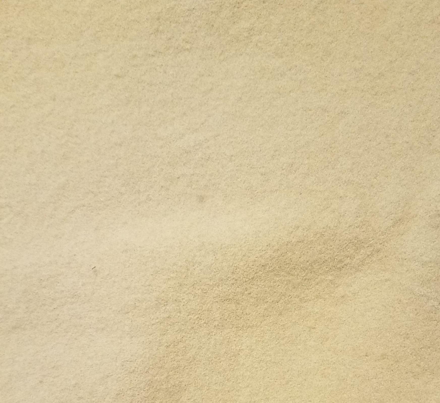 15 x 18 Piece of Heavy Weight Tan Wool