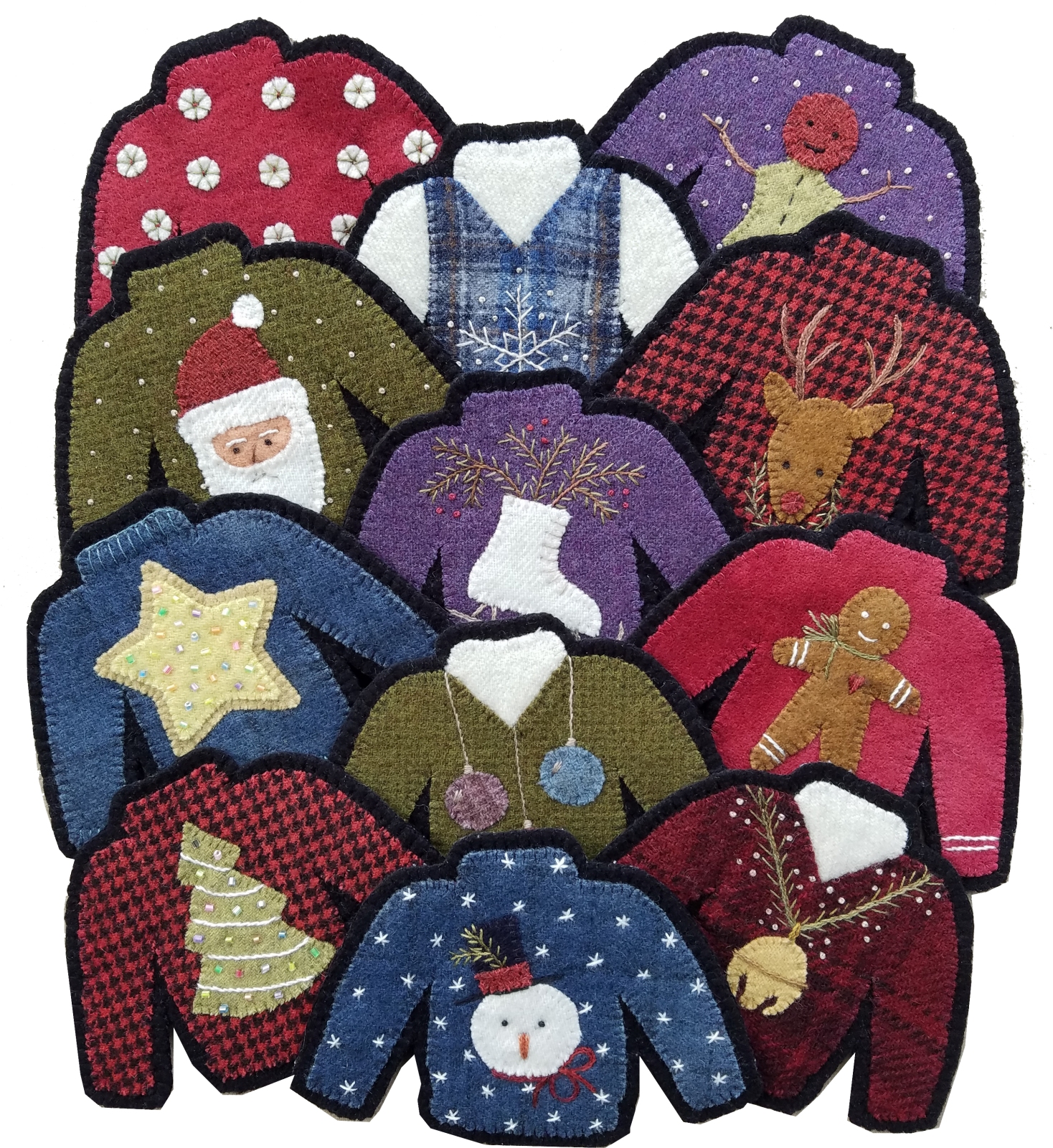 1823 Not So Ugly Christmas Sweater Ornaments
