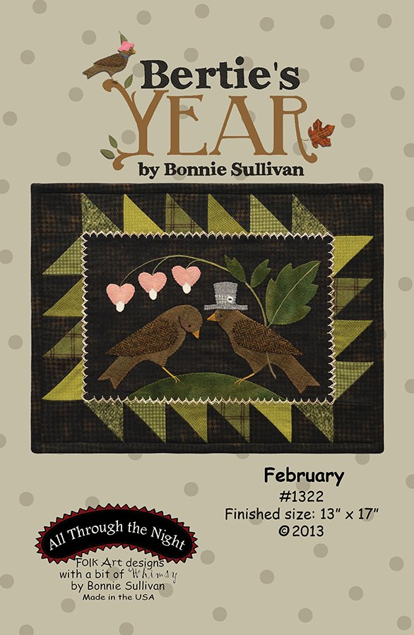 1322 Bertie's Year February