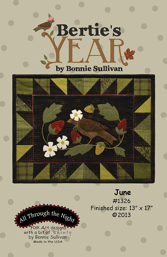 1326 Bertie's Year June