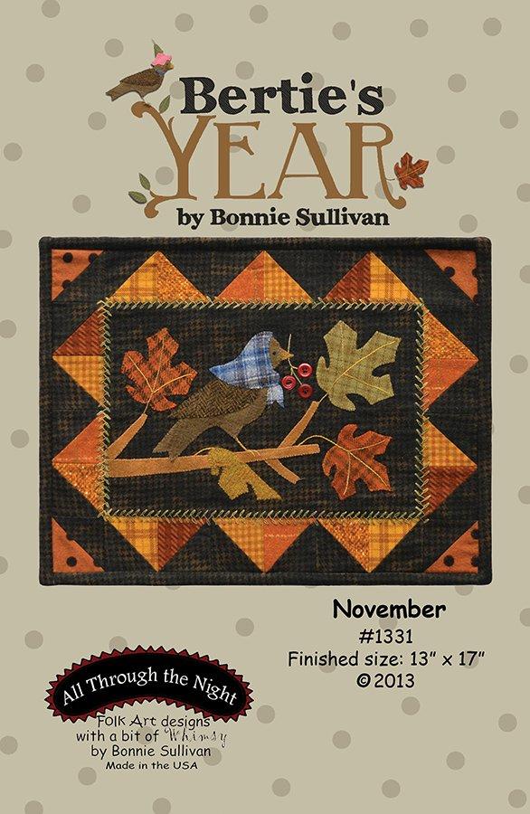 1331 Bertie's Year November
