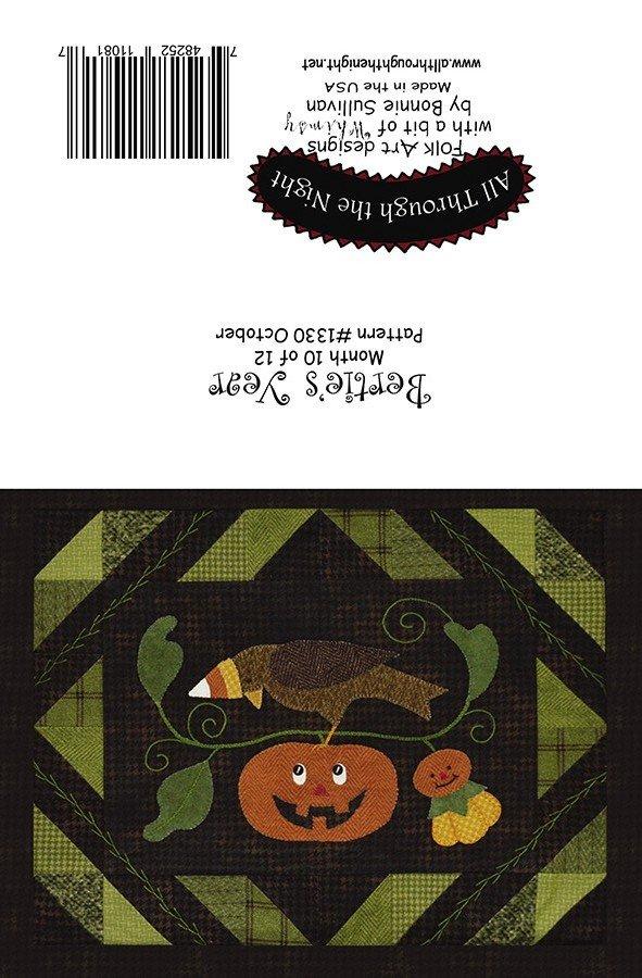 GC1550 Bertie's Year October Greeting Card