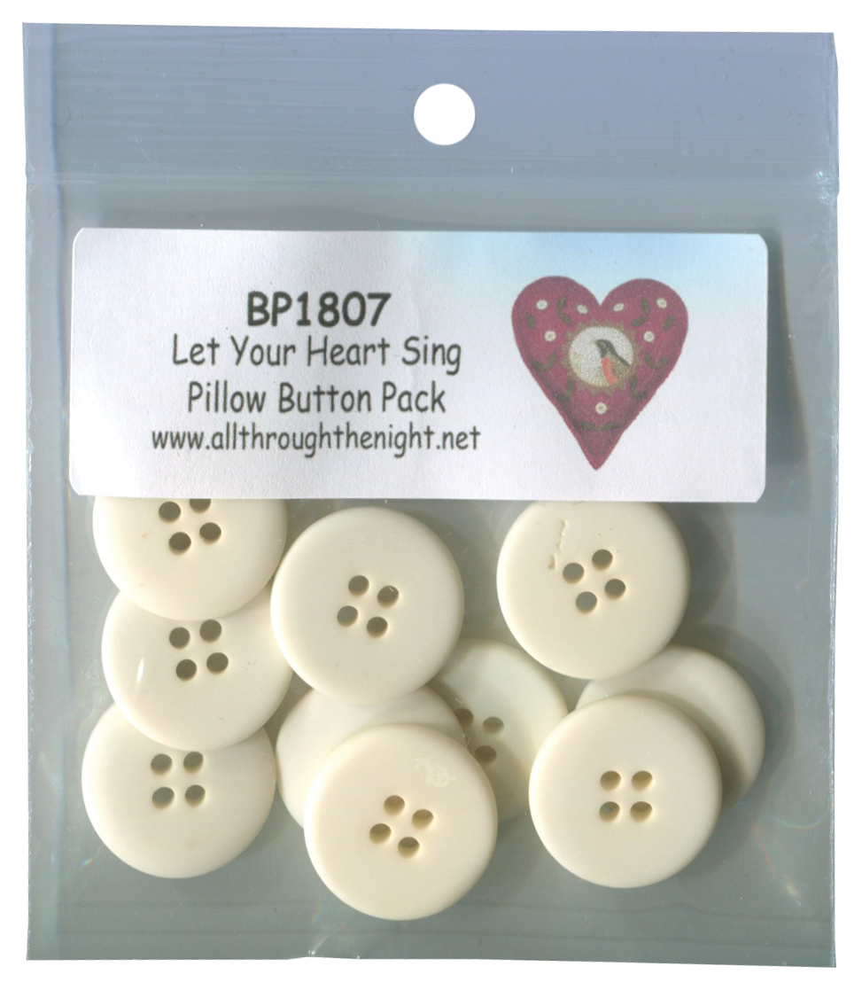 BP1807 Let Your Heart Sing Button Pack