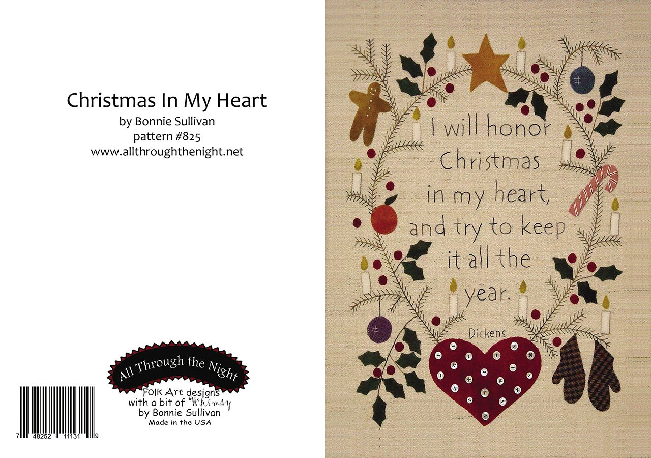 gc1555 christmas in my heart greeting card - Christmas In My Heart