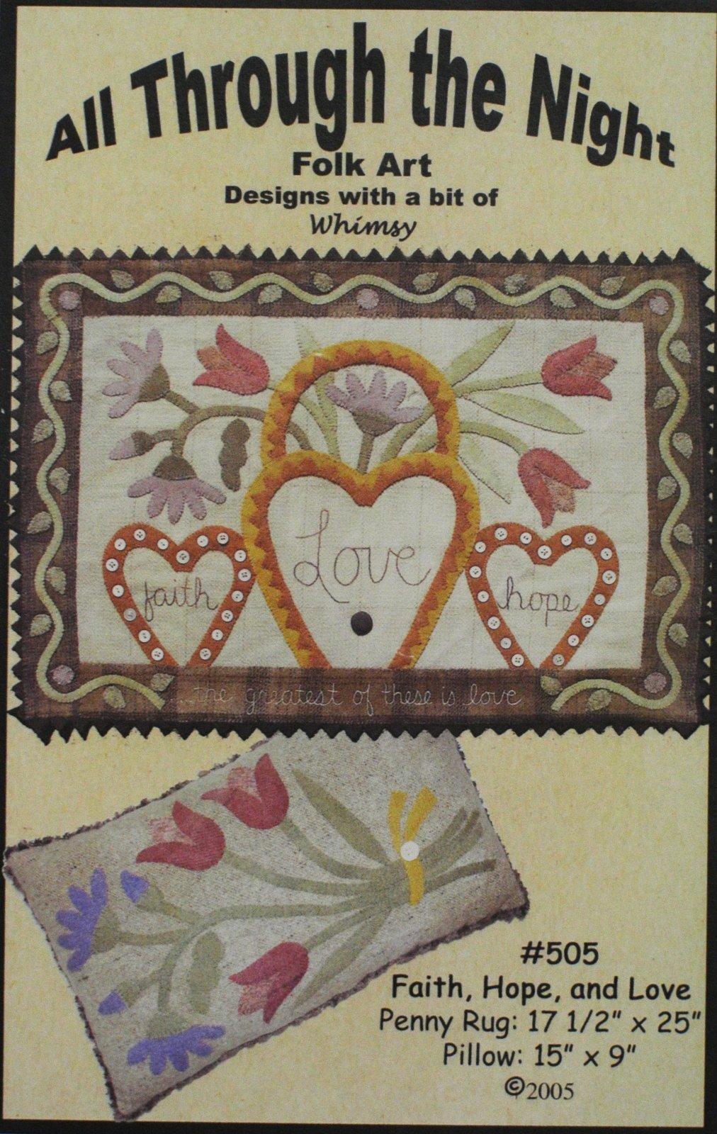 505 Faith, Hope, and Love