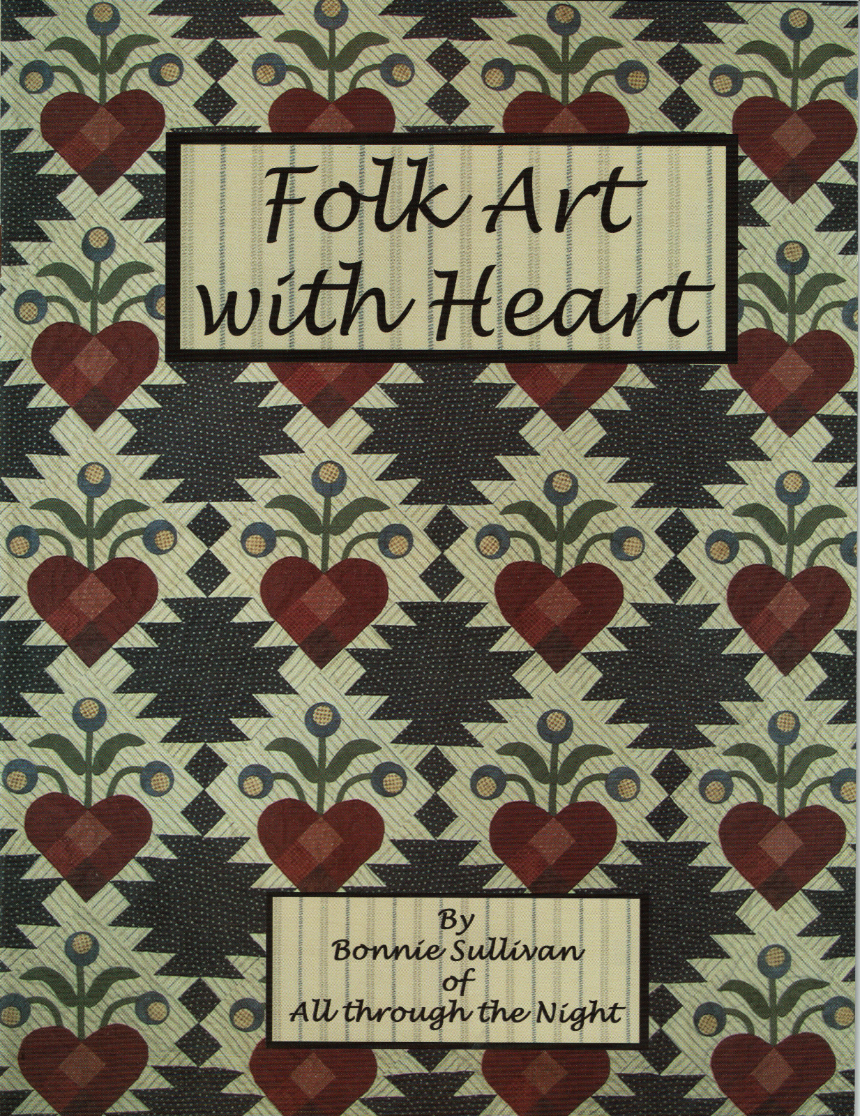 Folk Art with Heart by Bonnie Sullivan (book)