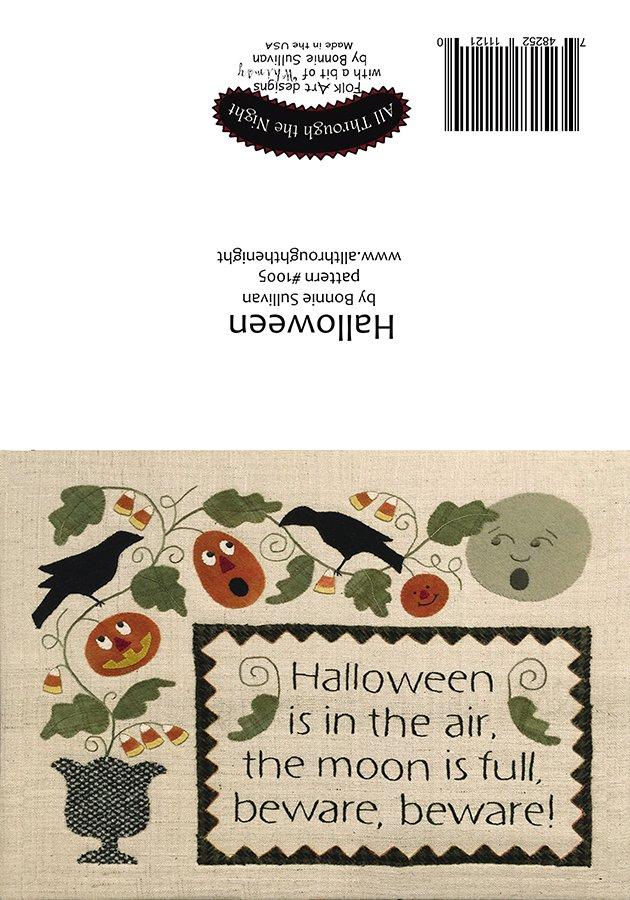 GC1554 Halloween Greeting Card