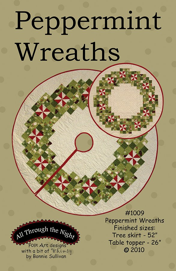 1009 Peppermint Wreaths