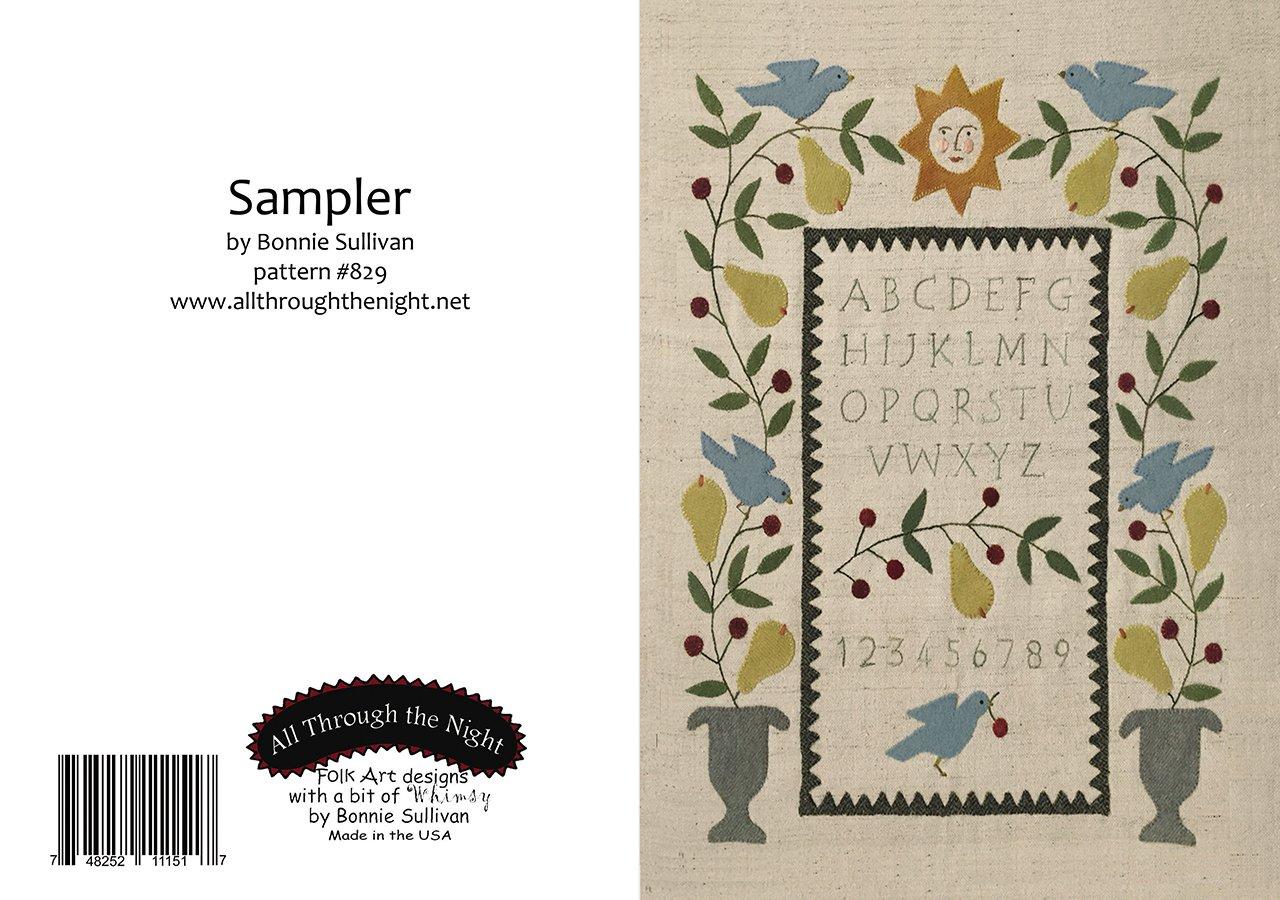 GC1557 Sampler Greeting Card