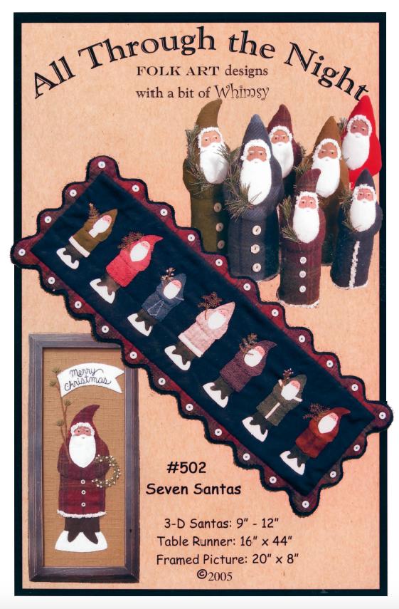502 Seven Santas