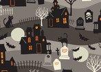 Spooktacular-Haunted  Grey