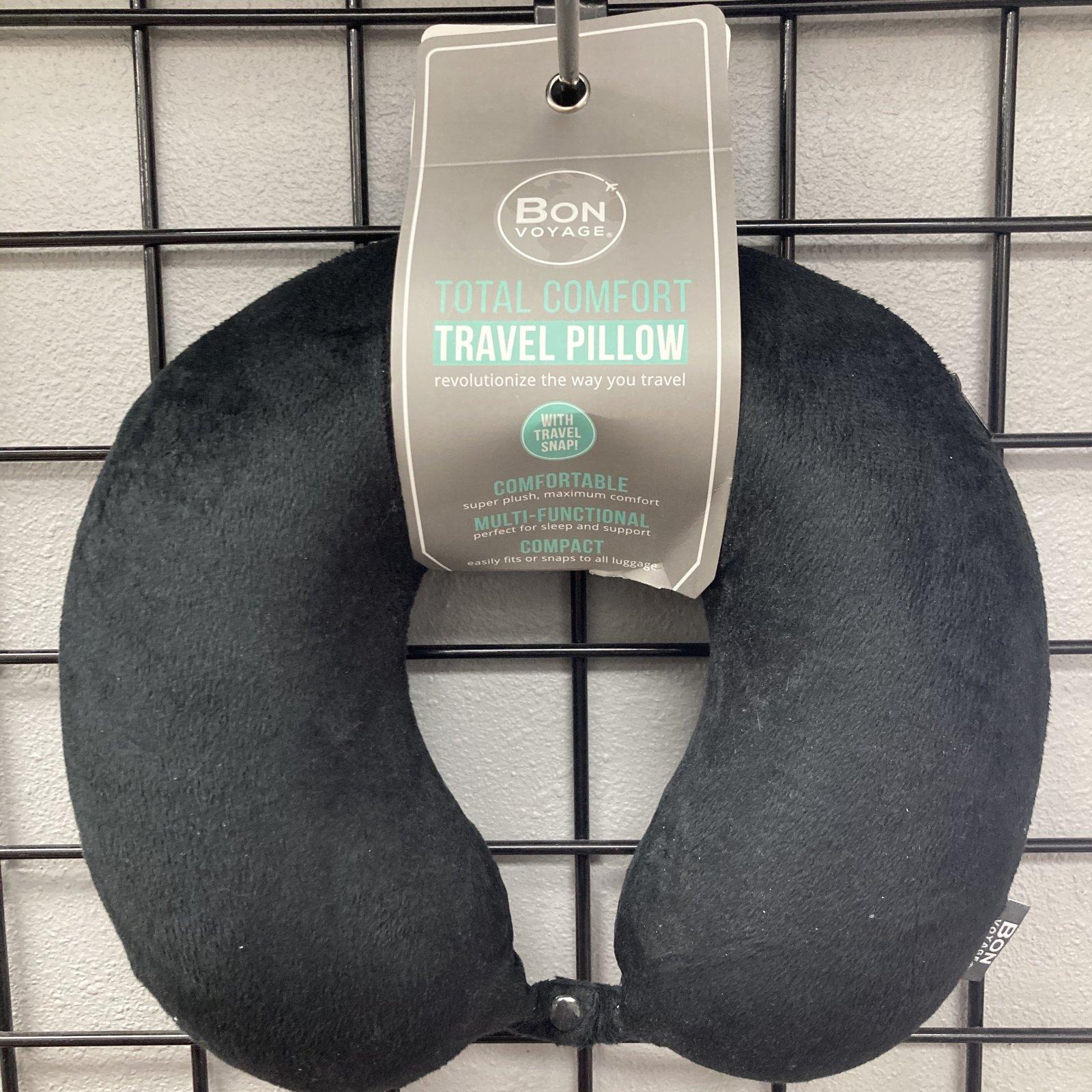Blank Neck Pillow - Total Comfort Travel Pillow