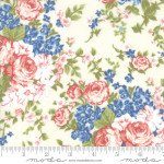 Mackinac Island : Faded Roses Cream - #14890-11 - By Minick & Simpson