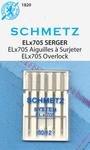 80/12 ELx705 Overlock / Serger Machine Needles - 5ct - Schmetz