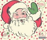 Swell Christmas : Santa Panel Applique - #31120P - By Urban Chics